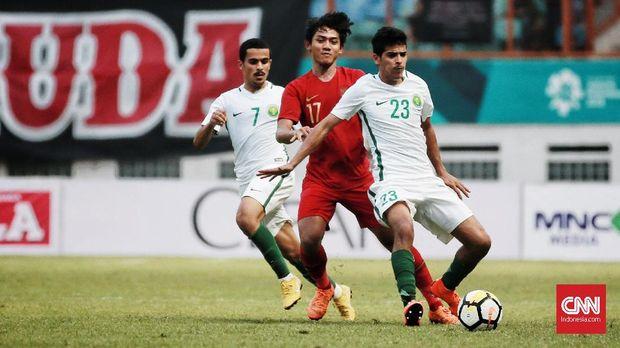 Timnas Indonesia mengadakan laga uji tanding jelang Piala Asia U-19 2018.