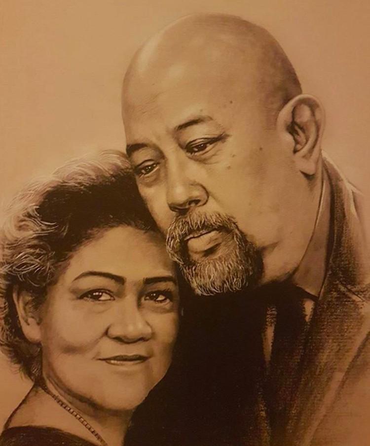 Indrodjojo Kusumonegoro atau Indro Warkop dan Nita Octobijanthy atau Anthy menikah di tahun 1981. (Foto: Instagram/ @indrowarkop_asli)