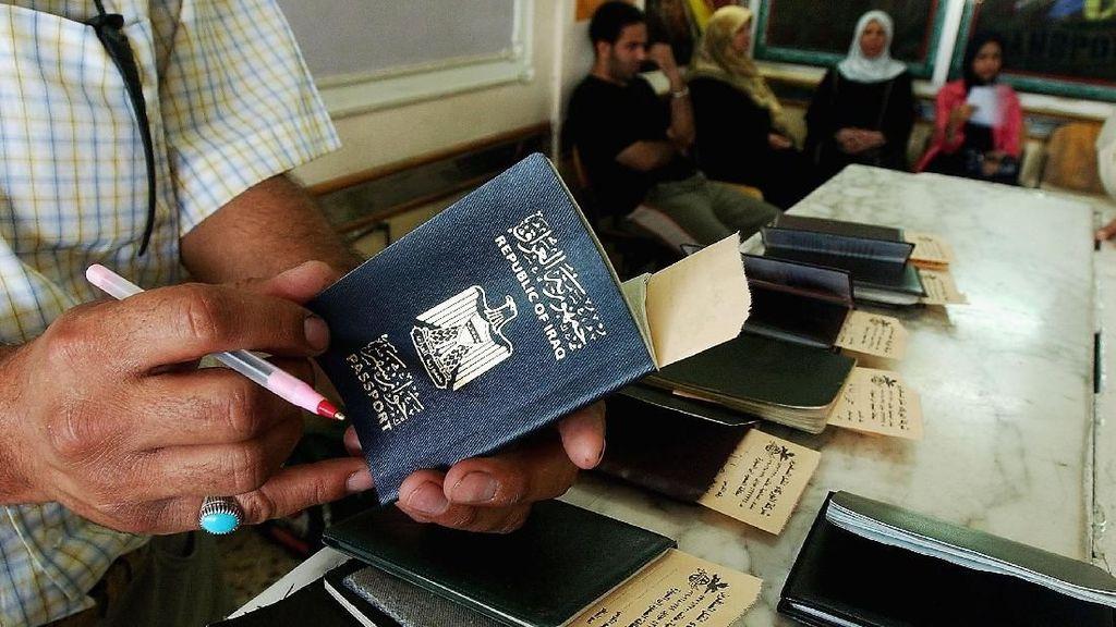 Ini 10 Negara dengan Paspor Terlemah Akhir Tahun 2018