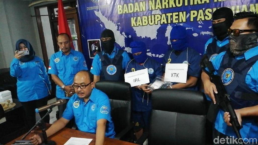BNN Bekuk Dua TKI Malaysia Pengedar Sabu di Pasuruan