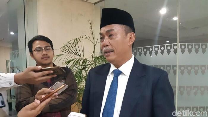 Ketua DPRD DKI Prasetio Edi Marsudi (Muhammad Fida Ul Haq/detikcom)