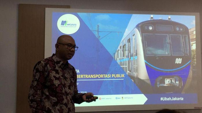 Dirut MRT Jakarta William Sabandar/Foto: Eduardo Simorangkir