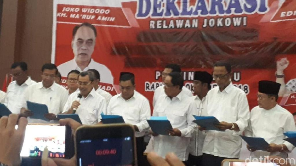 Panitia Deklarasi Dukung Jokowi Penuhi Undangan Bawaslu