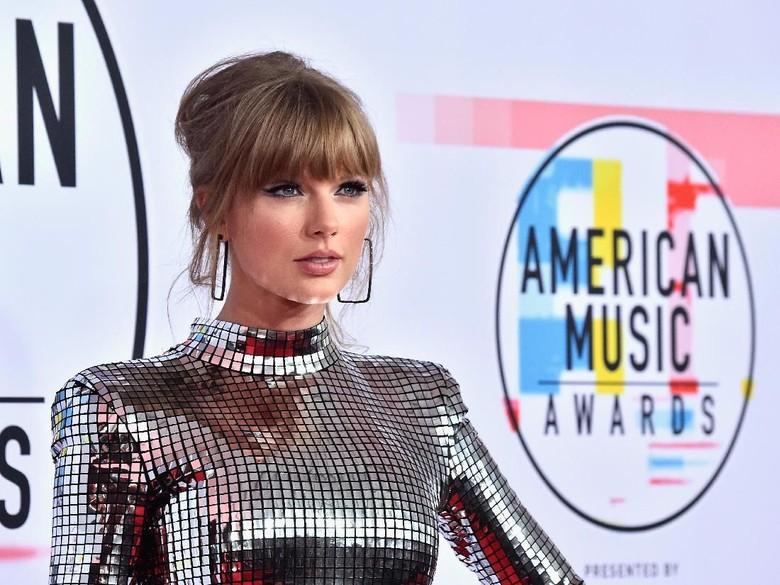 Taylor Swift di American Music Awards 2018 Foto: Dok. Getty Images