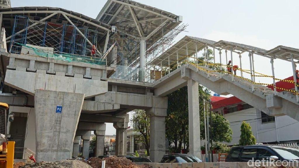 Pengelola: Pekerjaan LRT Velodrome-Kelapa Gading Tinggal Finishing