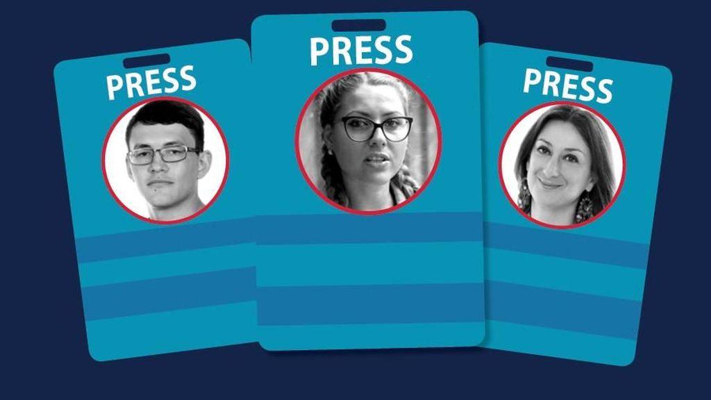 Kematian 8 Jurnalis Investigasi, Diperkosa hingga Dimutilasi