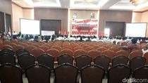 Banyak Kursi Kosong, Begini Deklarasi Dukung Jokowi di Pekanbaru