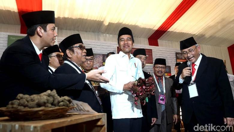 Pameran Hasil Bumi Ramaikan Rakernas LDII di Jakarta