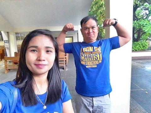 Jennifer Barobaro dan Randy Bautista Manois