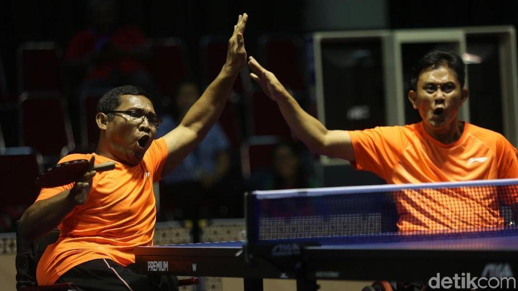 Cahyo dan Sefrianto Sumbang Perunggu Tenis Meja TT 2-3
