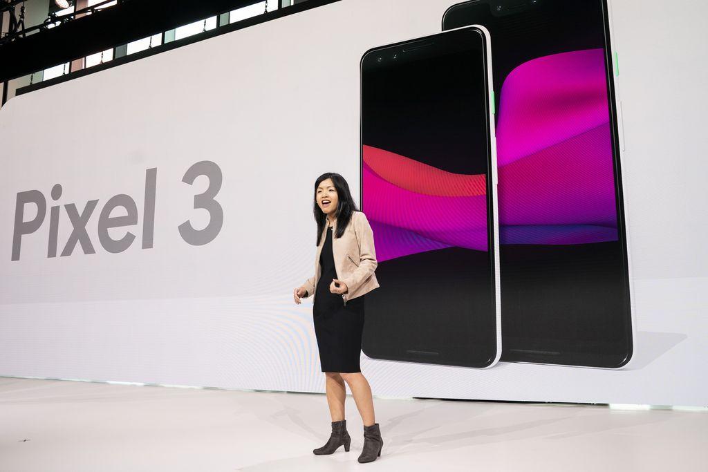 Google menggelar acara peluncuran perangkat terbarunya di New York, AS. Foto: Drew Angerer/Getty Images