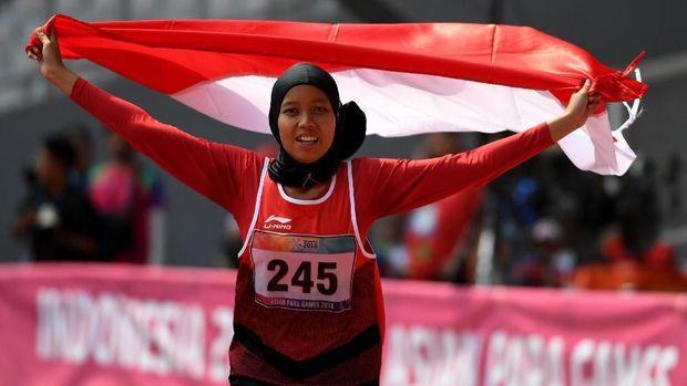 Indonesia sukses melewati target medali Asian Para Games.