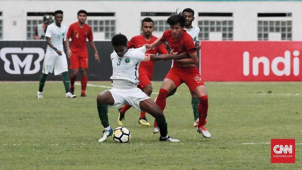 Timnas Indonesia kalah 1-2 dari Arab Saudi.