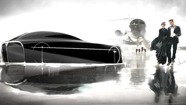 Desain mobil masa depan Bentley