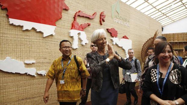 Cerita Bos IMF Yang Mengaku Terkesan dengan Indonesia Pavilion