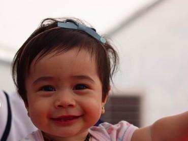 Sehat selalu ya gadis kecil kesayangan Bunda Nabila dan Ayah Reshwara. (Foto: Instagram/ @nsyakieb85)