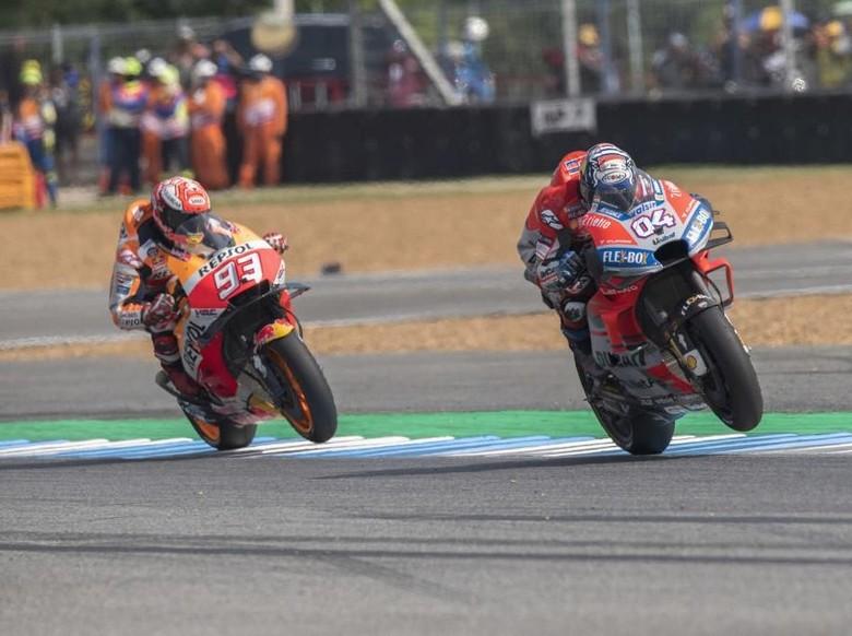 Balapan MotoGP. Foto: Mirco Lazzari gp/Getty Images
