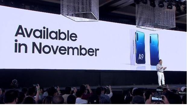 Sah! Galaxy A9 Jadi Ponsel 5 Kamera Belakang Pertama di Dunia