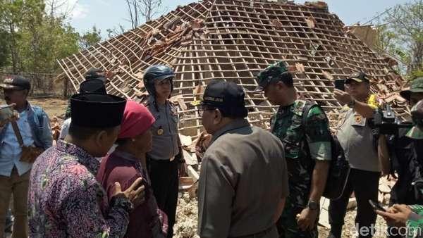 Korban Meninggal akibat Gempa Situbondo Dapat Santunan Rp 5 Juta