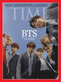 BTS Jadi Cover Majalah TIME.