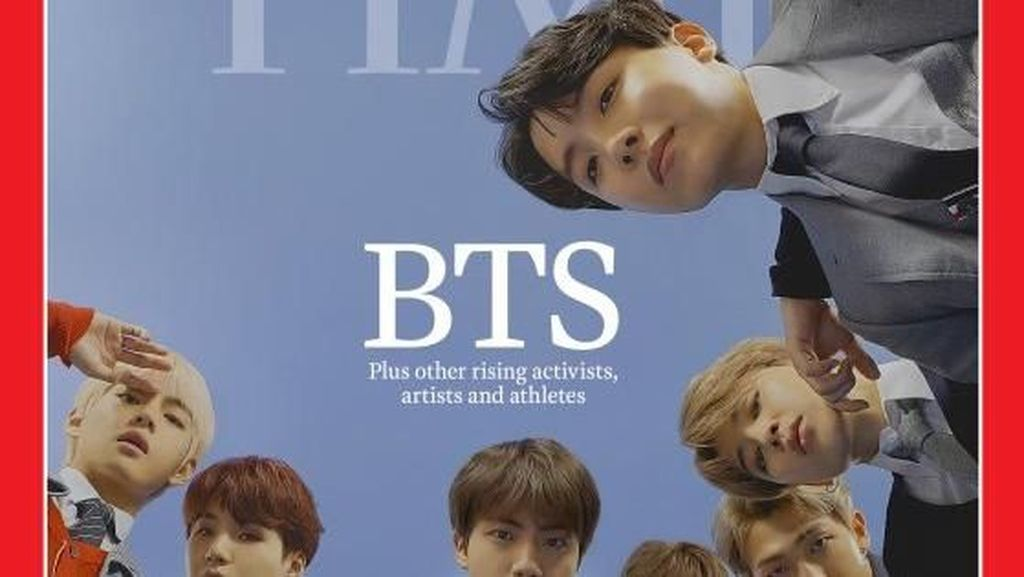 Bareng Beyonce, BTS Masuk Nominasi Person of the Year Versi TIME