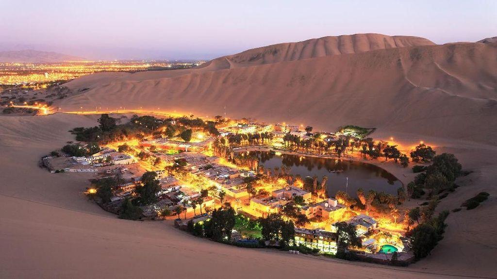 Foto: Mungkin Ini Oasis Tercantik di Dunia