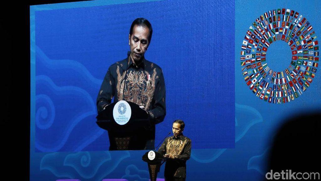 Di IMF-WB Bali, Jokowi Beberkan Perkembangan Fintech RI