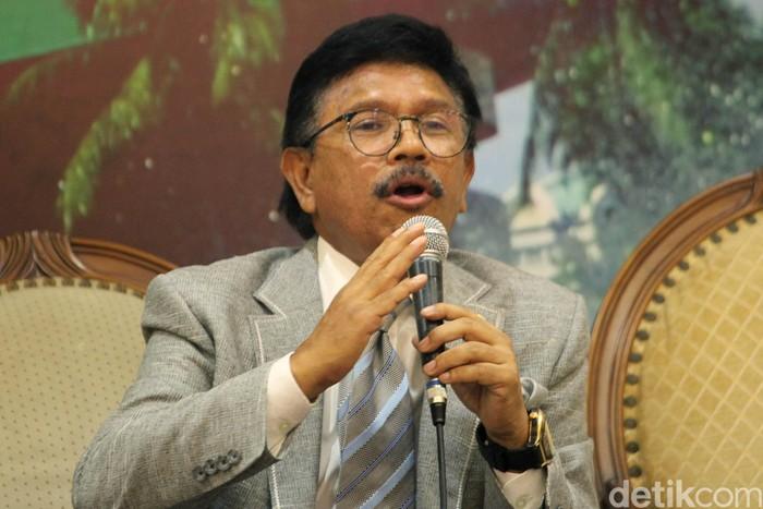 Sekjen Partai NasDem Johnny G Plate (Lamhot Aritonang/detikcom)