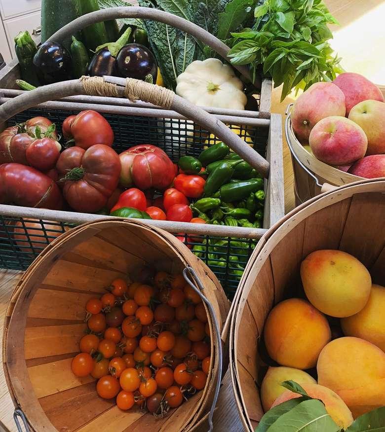 Pemilik nama lengkap Jennifer Anne Garner ini hobi berkebun. Lihat deh hasil panennya kali ini. Ada peach, apel hingga tomat cherry. Foto: Instagram jennifer.garner