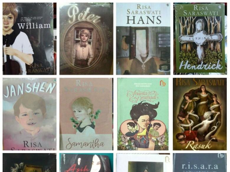 Arwah Asih Merajalela, Berani Intip 5 Buku Horor Risa Saraswati?