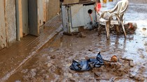 Foto: Kota Mallorca Luluh Lantak Diterjang Banjir