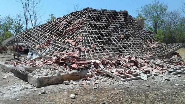 Dampak gempa Situbondo di Sumenep/
