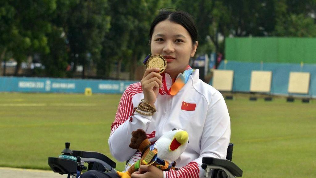 Chen Minyi Primadona di Arena Panahan Asian Para Games