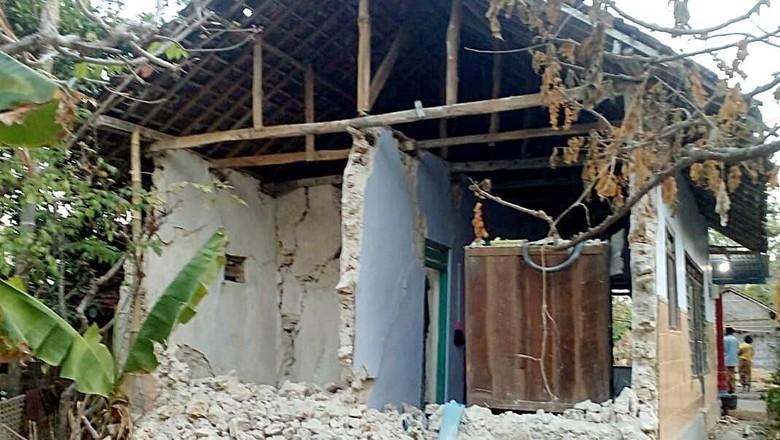 BPBD Jatim Sebut 504 Rumah Rusak Dampak Gempa Situbondo