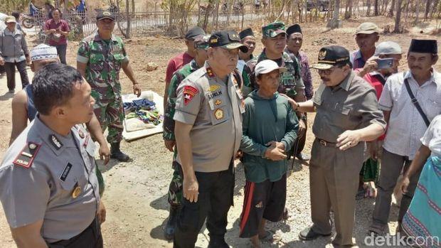 Gubernur, kapolda dan pangdam cek korban gempa di Sumenep/