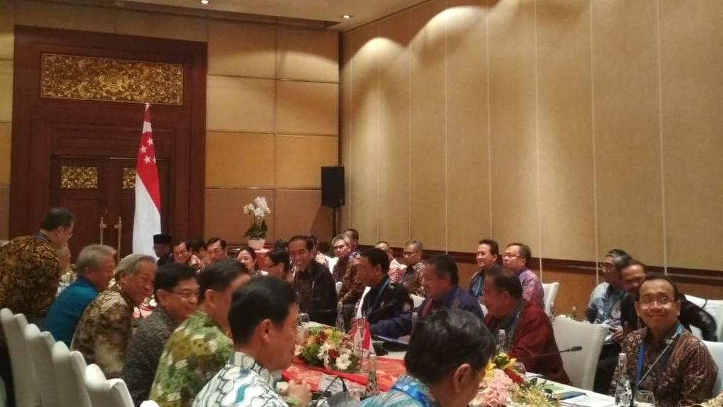 Jokowi Bertemu PM Singapura Bahas Investasi dan Insentif