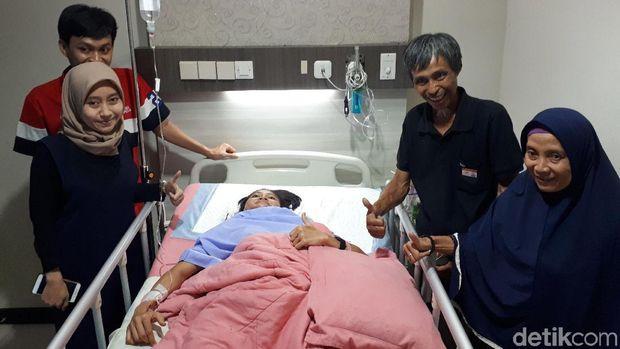 Insan Nurhaida dirawat di RSAL Mintohardjo.