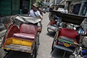 Geliat Shelter Khusus Becak di Jakarta Utara