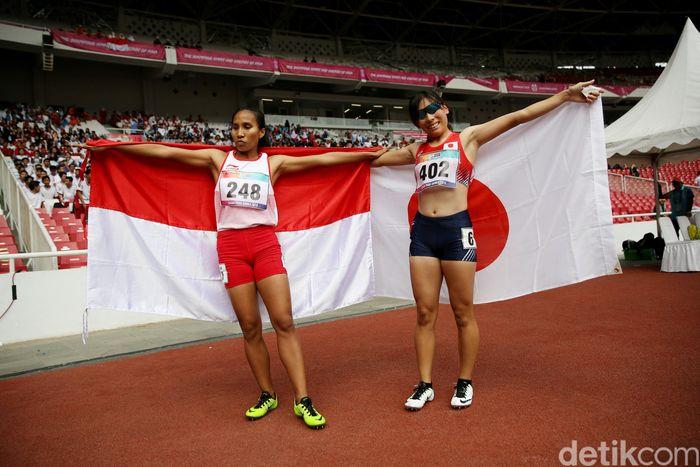 Dia dikalahkan atlet Jepang, Mana Sasaki.