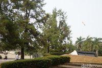 Suasana monumen yang asri (Shinta/detikTravel)