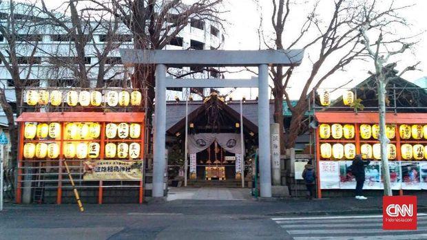 Kuil Namiyoke di Tsukiji
