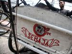 Viral Nama Becak Online Beol Cepirit, Ternyata Cuma Candaan