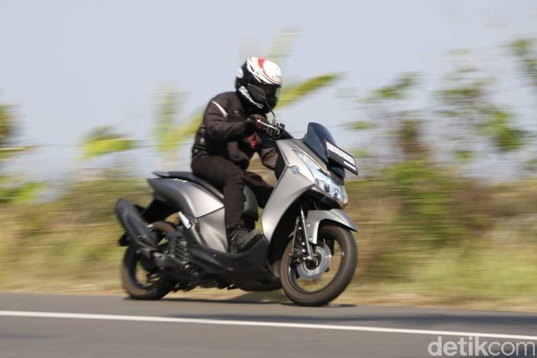 Ototest Yamaha Lexi. Foto: Rangga Rahadiansyah