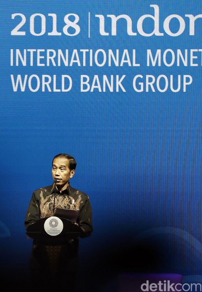 Presiden RI Joko Widodo terus mendorong kemajuan dan perkembangan finansial teknologi (Fintech) di Indonesia.