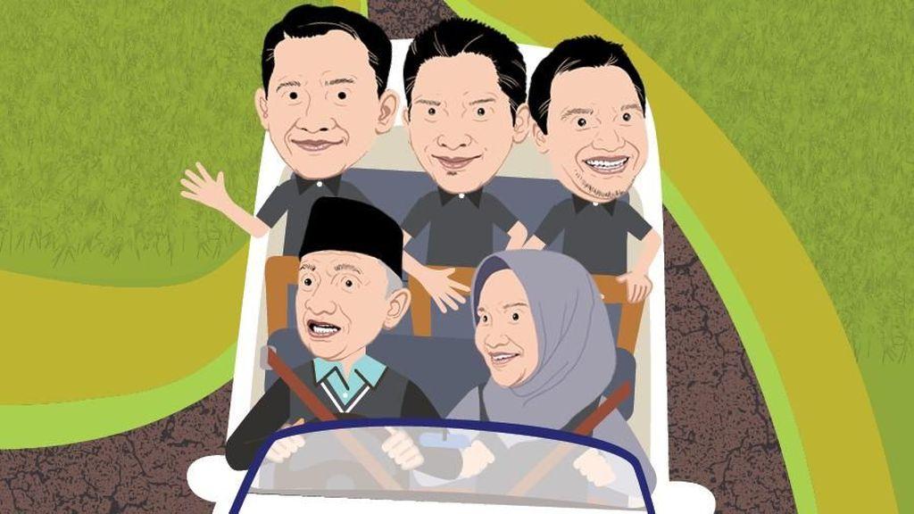 Dinasti Politik Amien Rais Lewat PAN