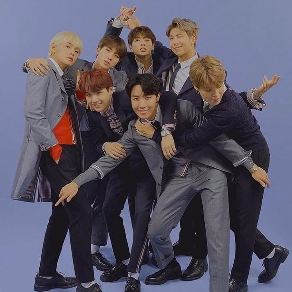 BTS Puncaki Daftar Orang Paling Berpengaruh Versi Majalah Time
