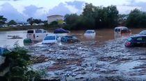 Mallorca Luluh Lantak Tersapu Banjir