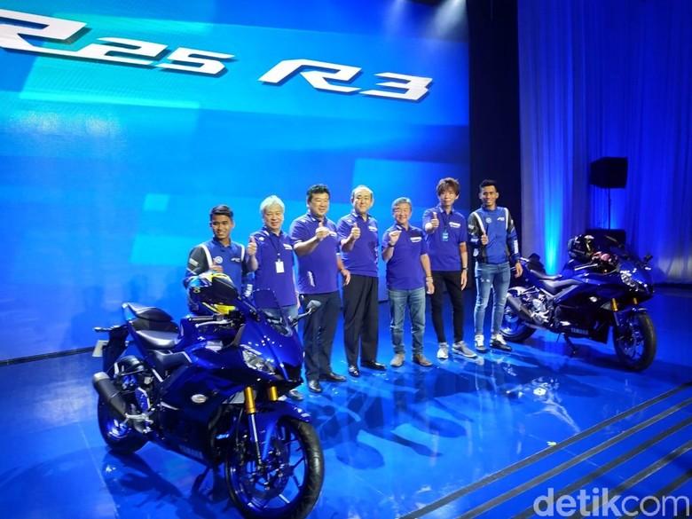 Yamaha Luncurkan R3 dan R25 Model Baru. Foto: Ridwan Arifin