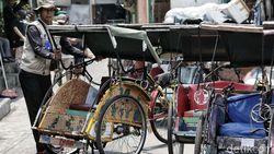 Wacana Legalisasi Becak di Jakarta Masih Terbentur Regulasi