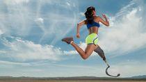 Kehilangan Kaki karena Kanker, Ibu Ini Lomba Lari Pakai Kaki Buatan